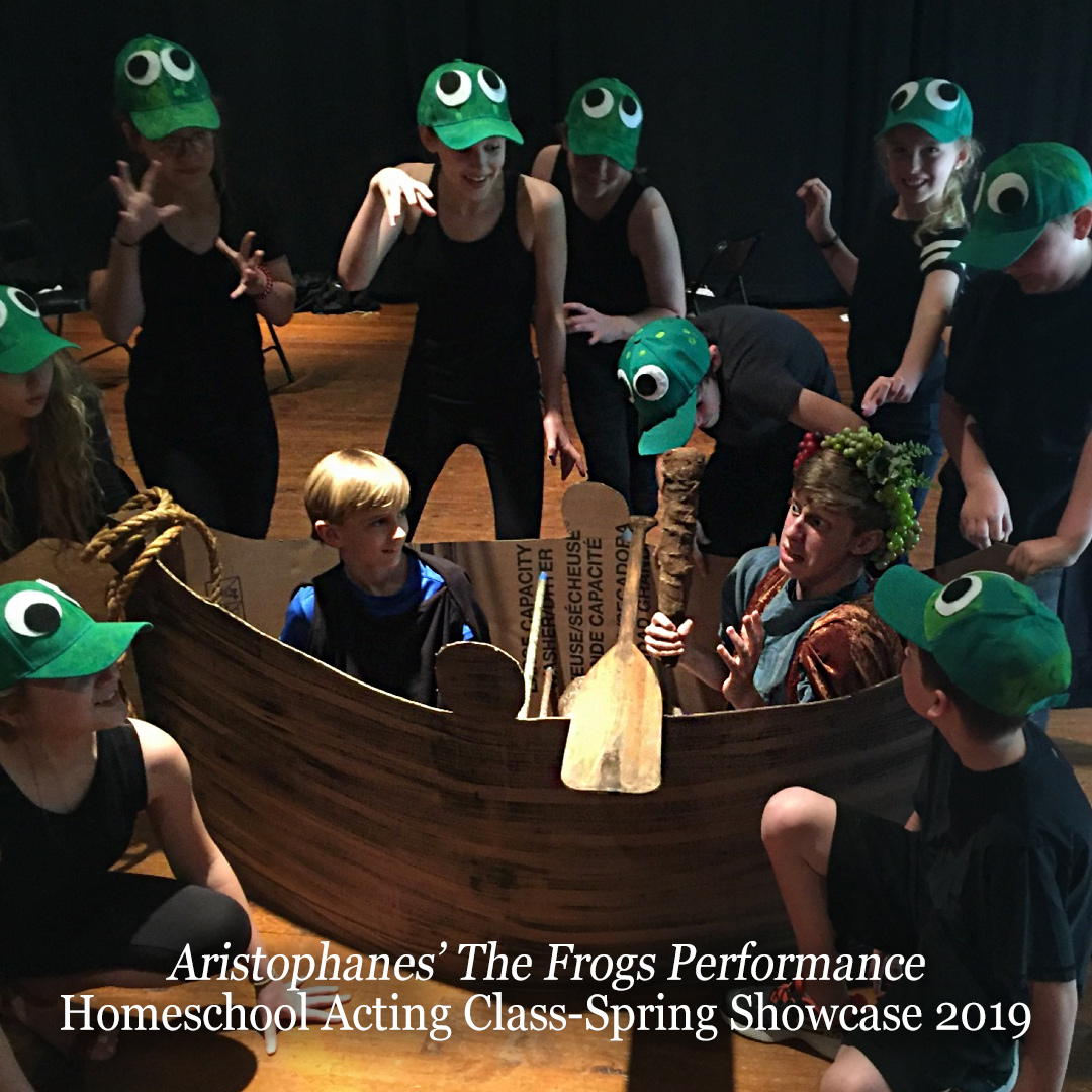 Education-HomeschooActingClass-Aristophanes-Frogs