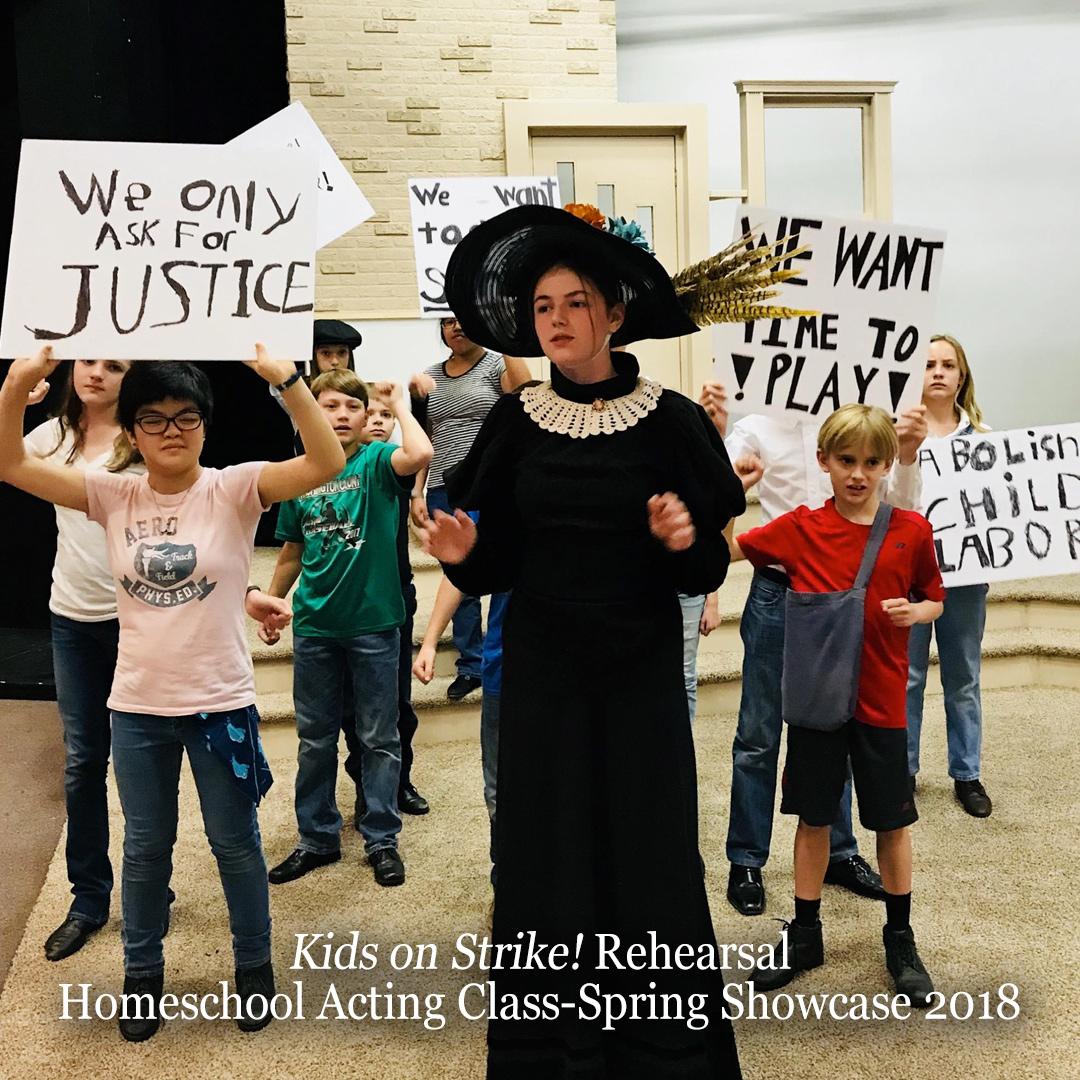 Education-HomeschooActingClass-KidsOnStrikeRehearsal